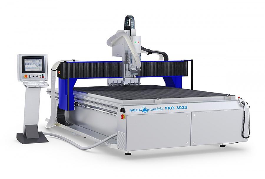 Fraiseuse à commande numérique format 2050x3050 mm 12 porte outils
